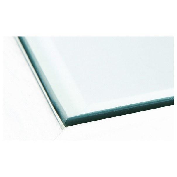 Konferenční stolek ROMANCE 2 bílá/sklo 7