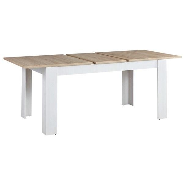 Jedálenský stôl  ROMANCE 83 smrekovec/dub san remo 3