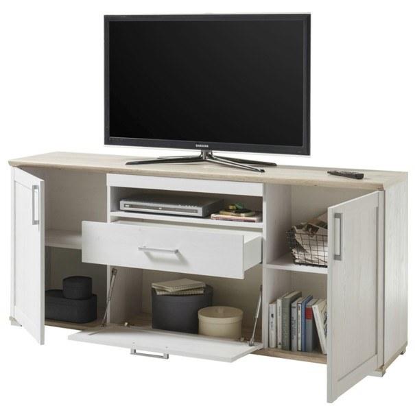 TV stolek  ROMANCE modřín/dub sanremo 2