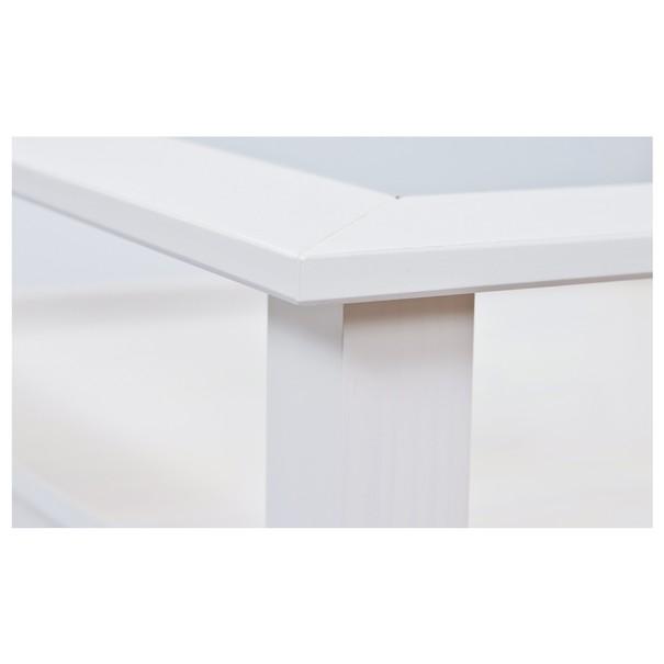 Konferenční stolek ROMANCE bílá 8