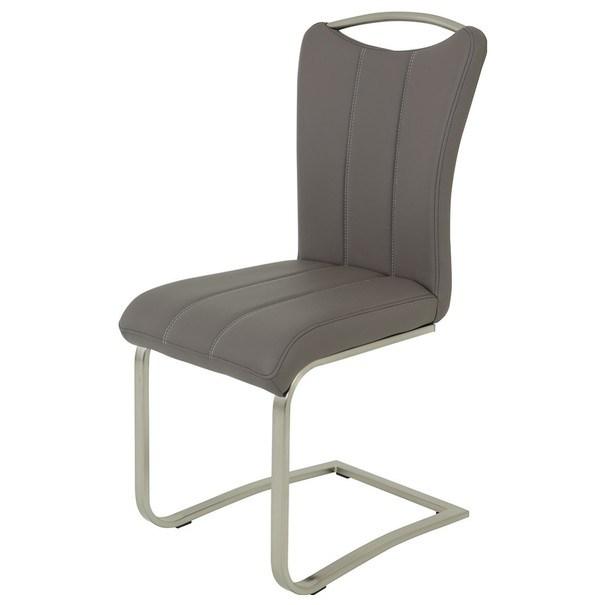 Jedálenská stolička ROSALIE sivá 1