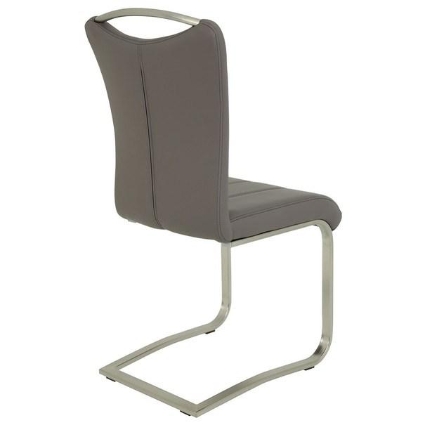 Jedálenská stolička ROSALIE sivá 2