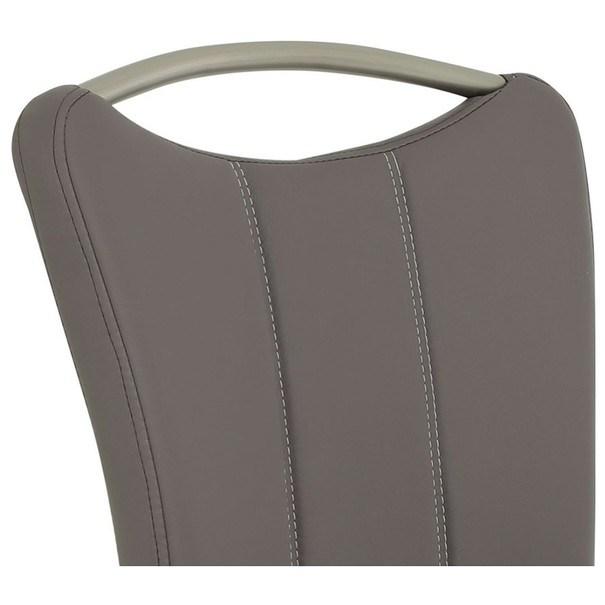 Jedálenská stolička ROSALIE sivá 3