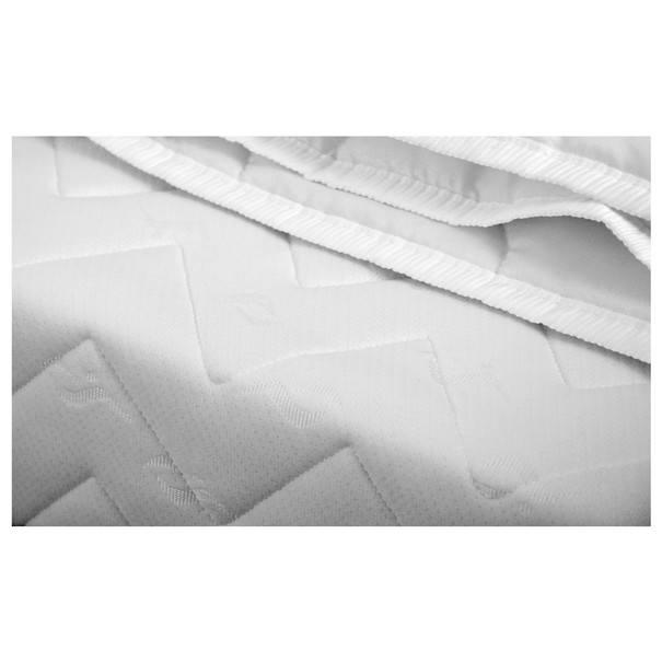 Postel s matrací a lůžkovinami RUBY  šedá 4