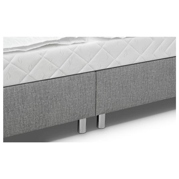 Postel s matrací a lůžkovinami RUBY  šedá 5
