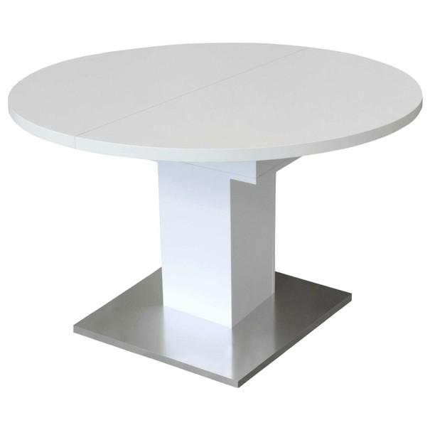 Sconto Jedálenský stôl RUND 120 1010 biela
