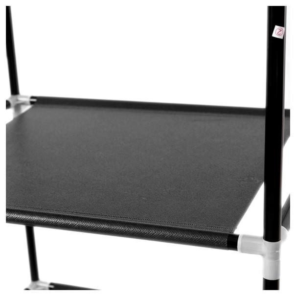 Látková šatní skříň RYG12 černá 17