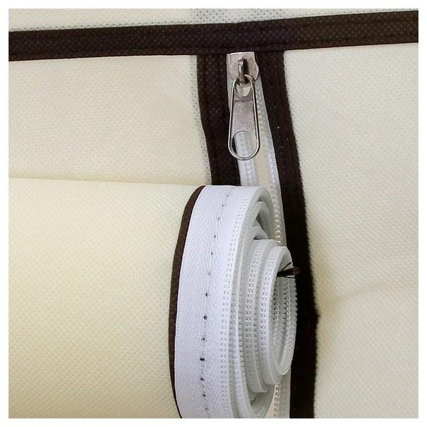 Látková šatní skříň RYG12 béžová 10