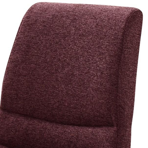 Jídelní židle SADIE 2 tmavě červená 3