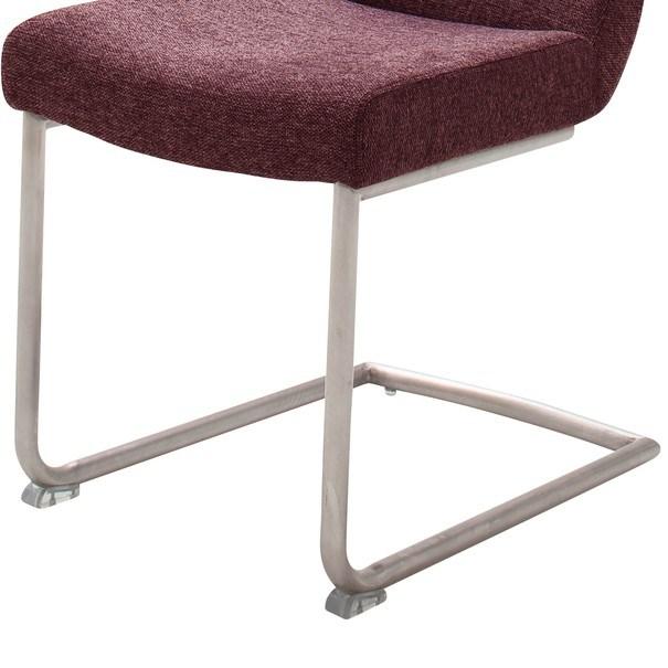 Jídelní židle SADIE 2 tmavě červená 4