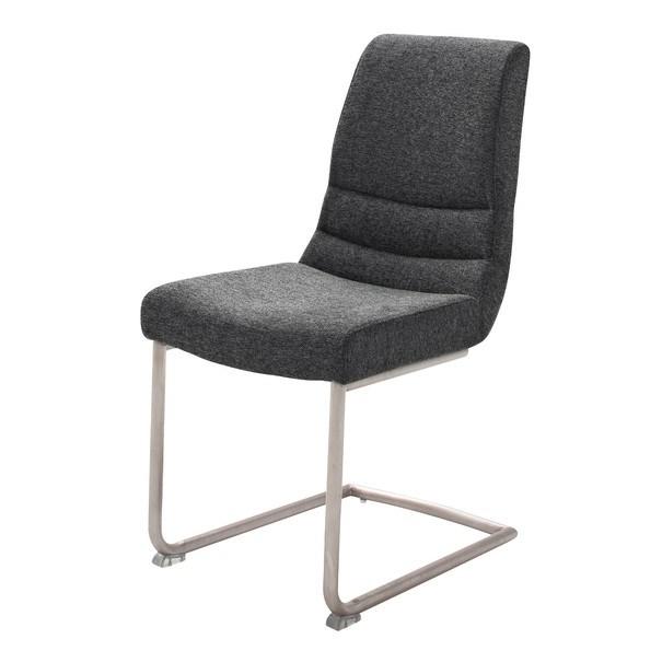 Jídelní židle SADIE 2 antracitová 1