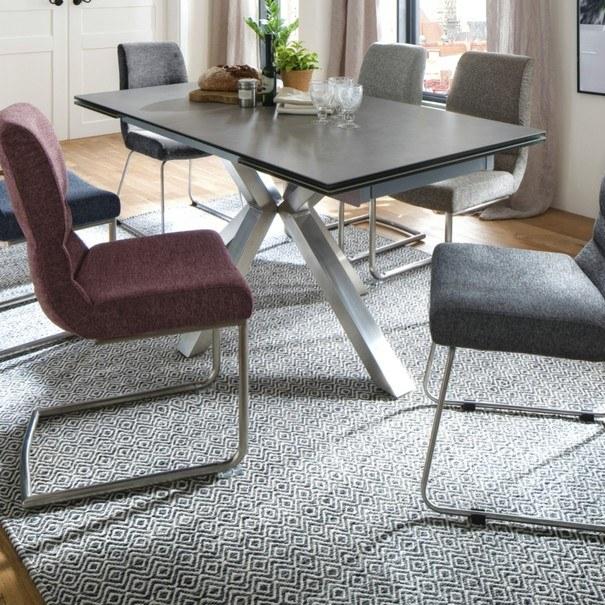 Jedálenská stolička SADIE 2 sivá 2