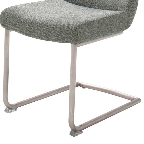 Jedálenská stolička SADIE 2 sivá 5
