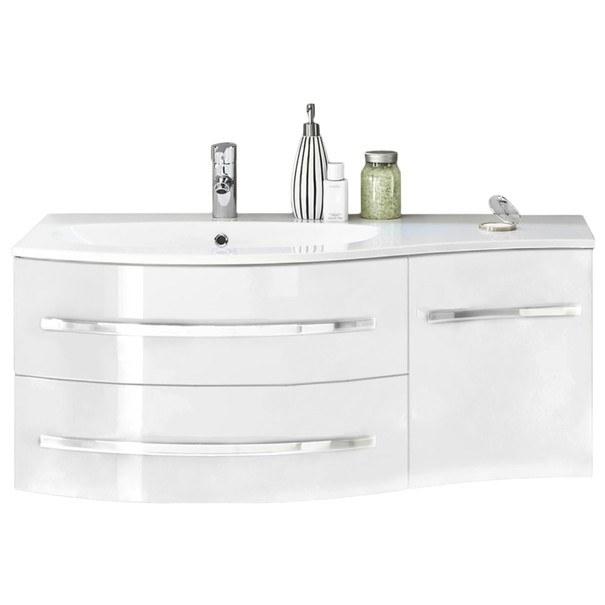 Umyvadlová skříňka s umyvadlem SALINAS bílá 1