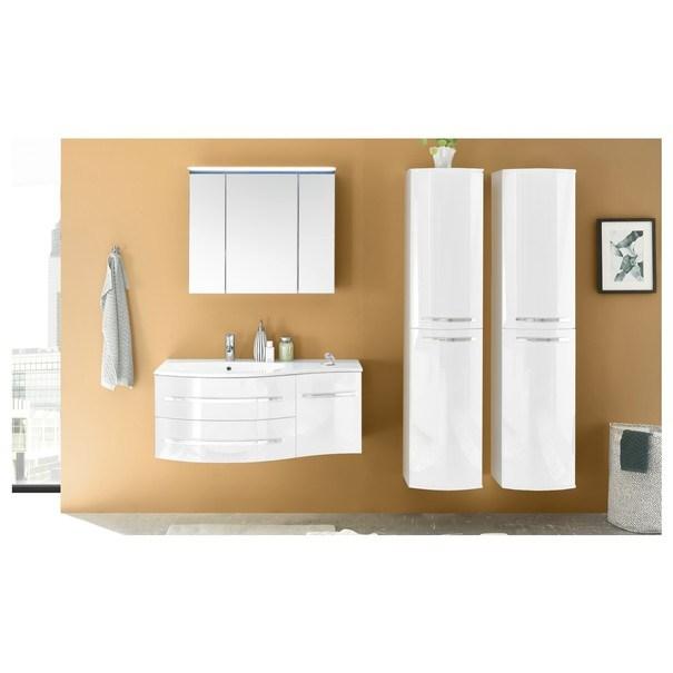 Umyvadlová skříňka s umyvadlem SALINAS bílá 2