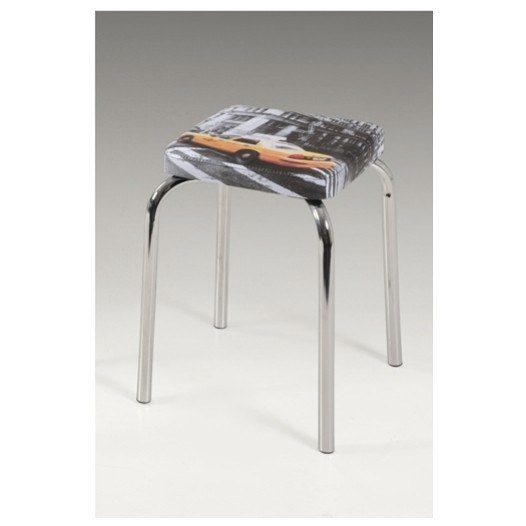 Stolička SANDRA H sivá 1
