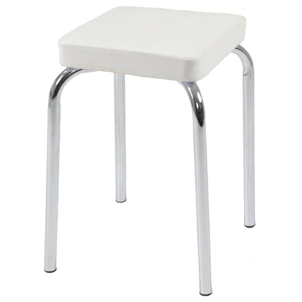Stolička SANDRA H bílá 1