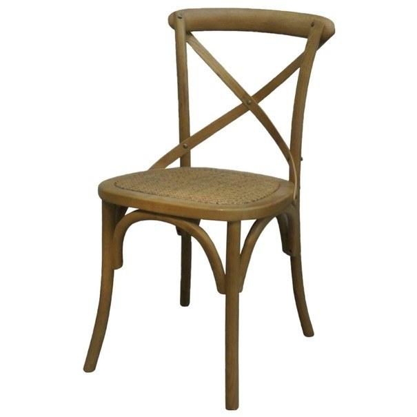 Jídelní židle SANSA hnědá 1