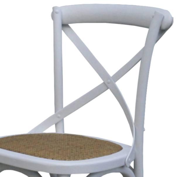 Jídelní židle SANSA bílá 2