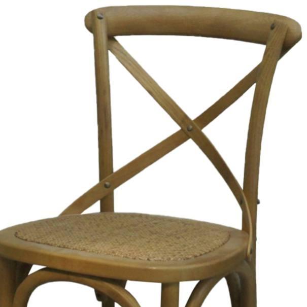 Jídelní židle SANSA hnědá 2