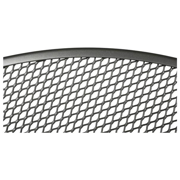 Kulatý stolek SAVOY šedý kov 4