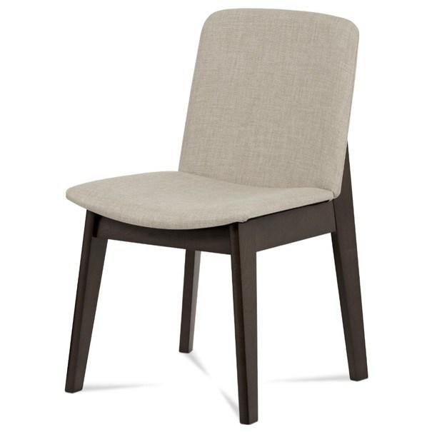 Jídelní židle SINA ořech/krémová 1