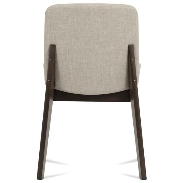 Jídelní židle SINA ořech/krémová 3