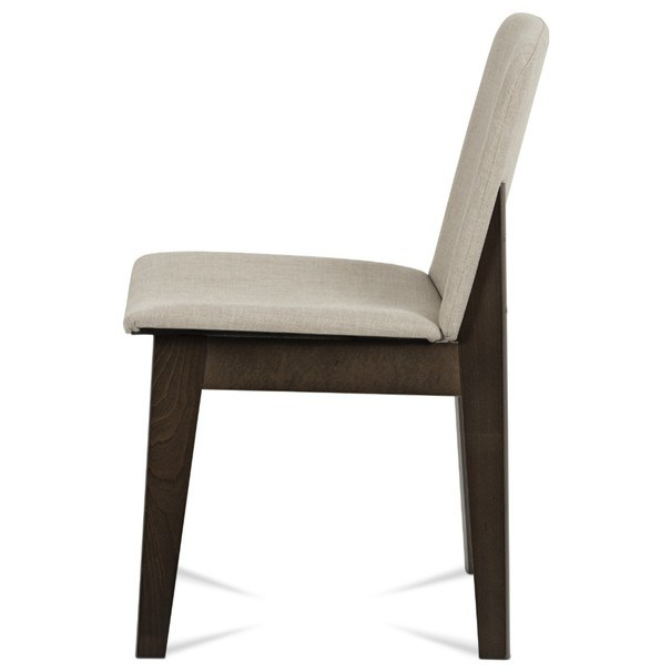 Jídelní židle SINA ořech/krémová 4