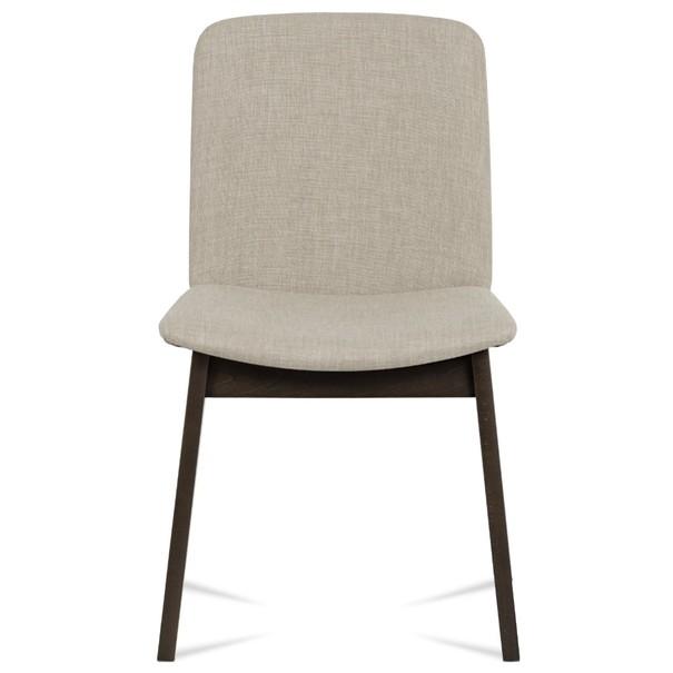 Jídelní židle SINA ořech/krémová 5
