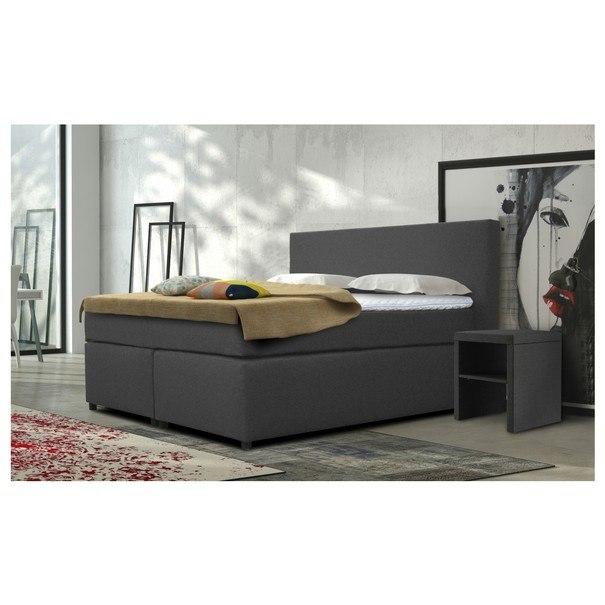Noční stolek SLEEP šedá 2