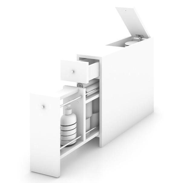 Koupelnová skříňka SMART bílá 3