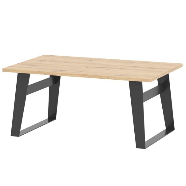 Konferenční stolek SOFT LT15 dub artisan/černá 1