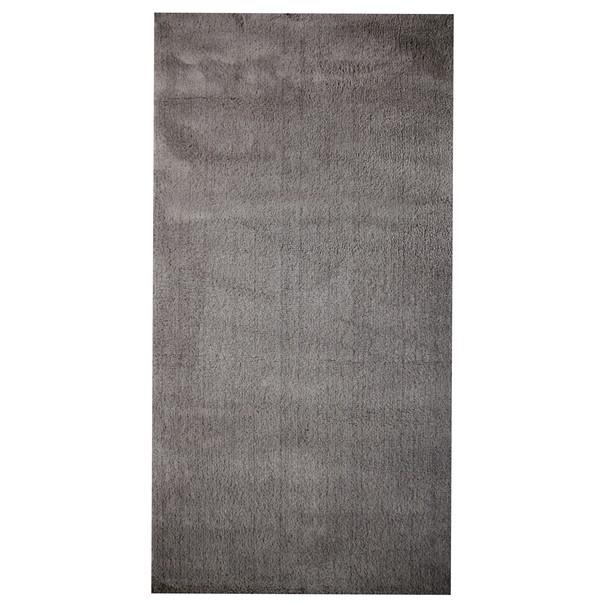 Koberec SOFT PLUS šedá, 80x250 cm 1