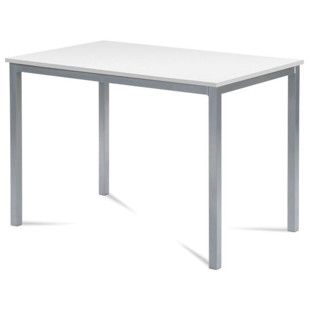 Jídelní stůl SOKRATES bílá/šedá 1