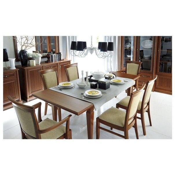 Jídelní stůl SONATA kaštan 2