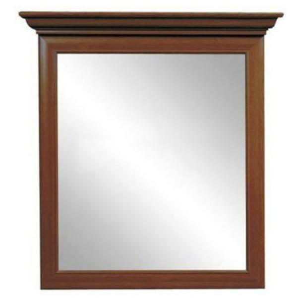 Zrcadlo SONATA kaštan 1