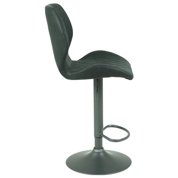 Barová židle SONJA H antracitová 2