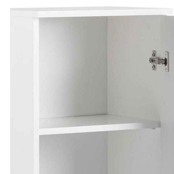 Polovysoká skříňka SPICE bílá vysoký lesk 7