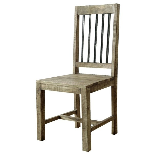 Židle SPRING akácie 1