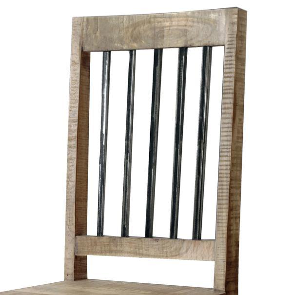 Jedálenská stolička SPRING akácia 2