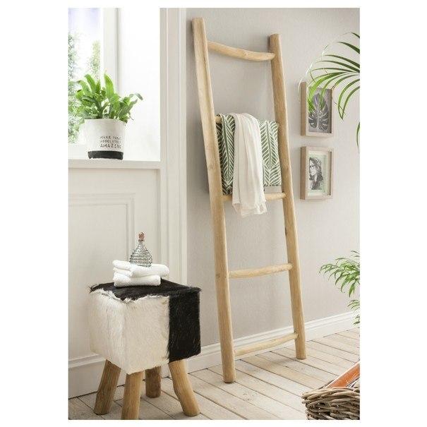 Rebrík STEPP teakové drevo 1