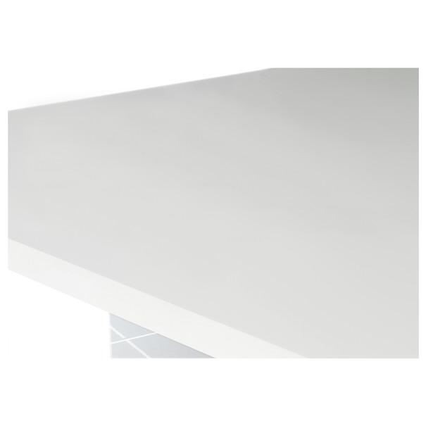 Konferenční stolek STORM bílá/dub divoký 2