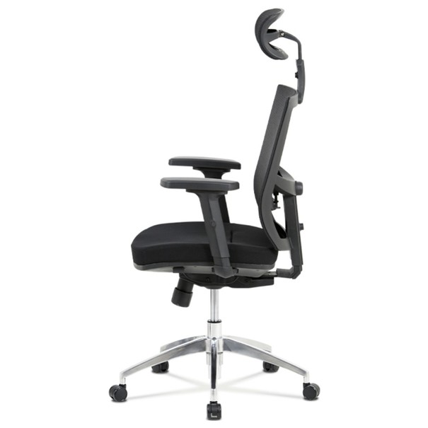 Kancelárska stolička STUART čierna 3