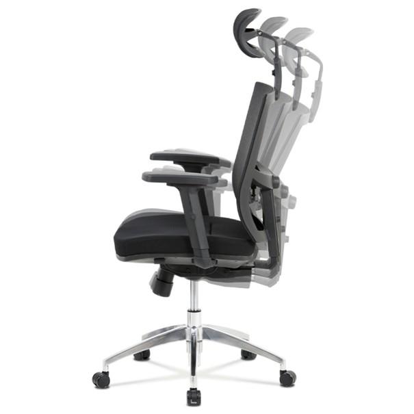 Kancelárska stolička STUART čierna 5