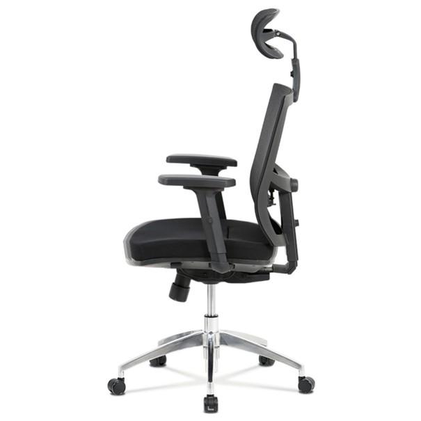 Kancelárska stolička STUART čierna 6
