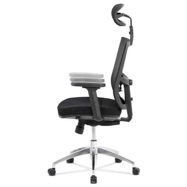 Kancelárska stolička STUART čierna 8