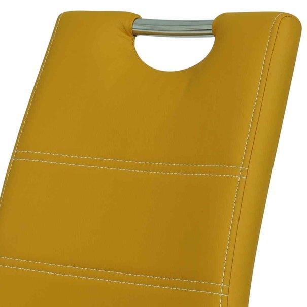Jídelní židle SUSI S žlutá 3