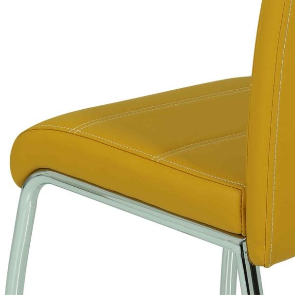 Jídelní židle SUSI S žlutá 4