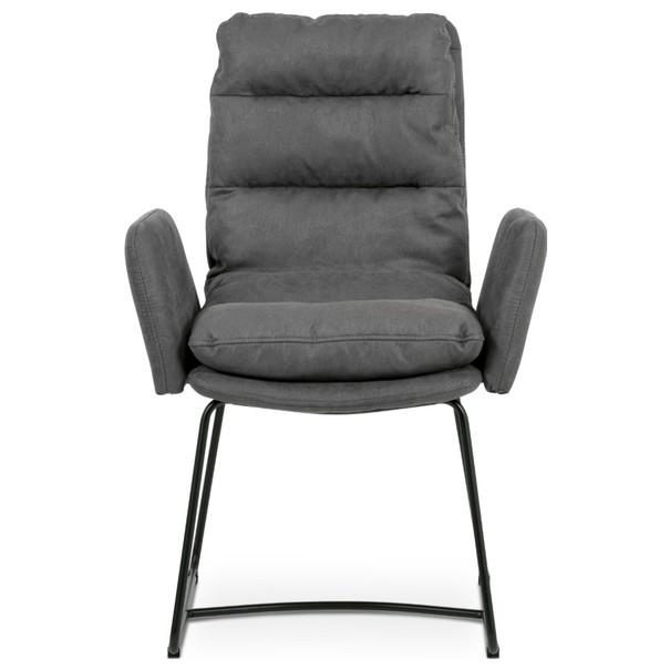 Jedálenská stolička SVATAVA sivá 2