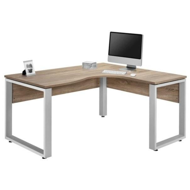 Rohový psací stůl SYSTEM dub sonoma 1